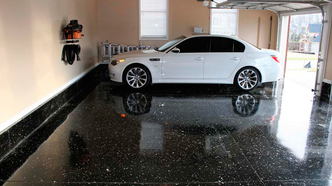 how to keep your garage floor clean